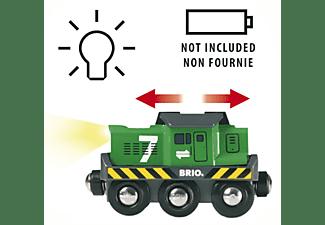 BRIO Batterie-Frachtlok batteriebetriebenes Spielzeug, Mehrfarbig