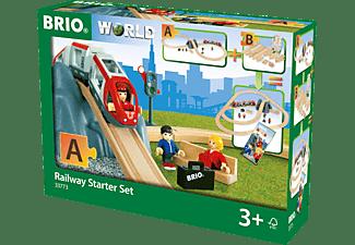 BRIO Eisenbahn Starter Set Spielset, Mehrfarbig