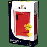 BRIO Roter Geschirrspüler Küchenspielset, Mehrfarbig