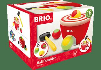 BRIO Kugel-Hammerspiel Lernspielzeug, Mehrfarbig
