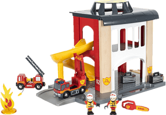 BRIO Grosse Feuerwehr-Station Spielset, Mehrfarbig
