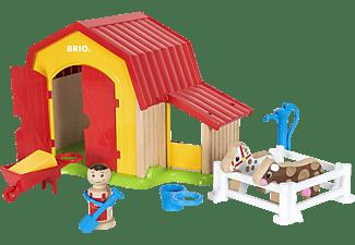 BRIO Mein grosser Bauernhof Spielset Mehrfarbig