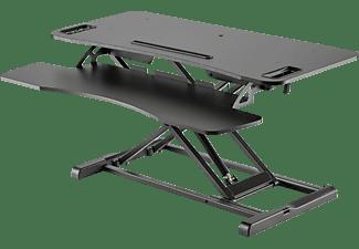 DIGITUS DA-90380-1 Schreibtischaufsatz, Schwarz