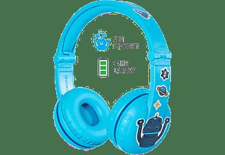 ONANOFF Hoofdtelefoon Bluetooth voor kinderen Buddyphones Play Glacier Blue