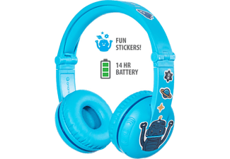 ONANOFF Casque audio Bluetooth pour enfants Buddyphones Play Glacier Blue (BT-BP-PLAY-GLACIER)