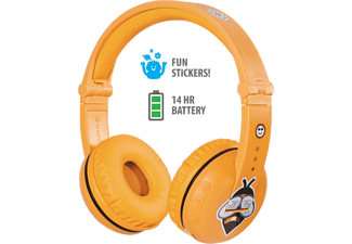 ONANOFF Casque audio Bluetooth pour enfants Buddyphones Play Safari Yellow (BT-BP-PLAY-SAFARI)