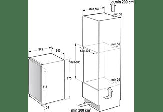 GORENJE Einbau Gefrierschrank Weiß FI4091E1