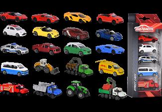 MAJORETTE WOW 5 Pieces Set, 4-sort. Spielzeugauto Mehrfarbig