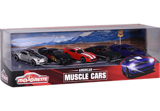 MAJORETTE Muscle Cars 5 pcs Giftpack Spielzeugauto Mehrfarbig