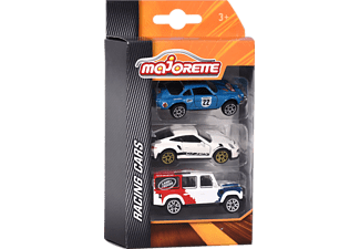 MAJORETTE Racing 3 Pcs. Set, 3-sort. Spielzeugauto Mehrfarbig