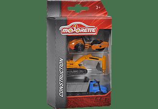 MAJORETTE Construction 3 Pieces Set, 2-sort. Spielzeugauto Mehrfarbig
