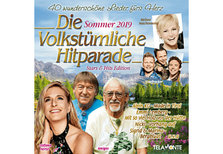 VARIOUS - Die volkstümliche Hitparade - Sommer 2019  - (CD)