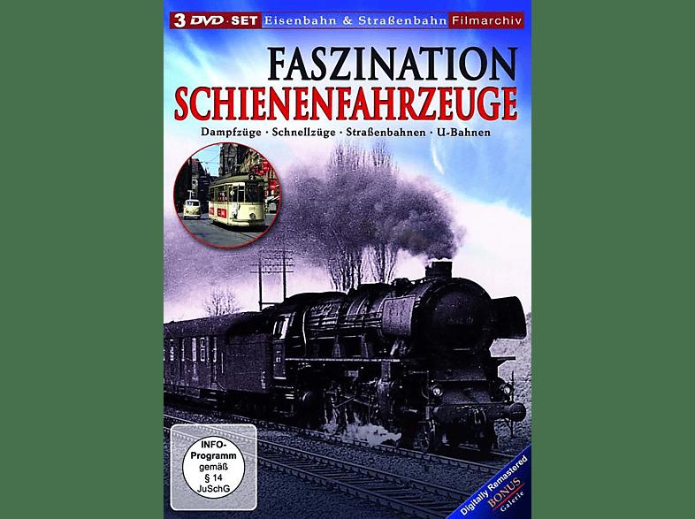 Faszination Schienenfahrzeuge [DVD]