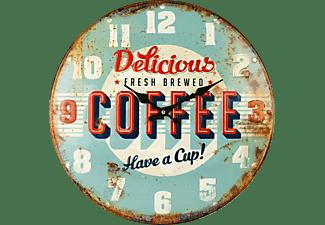 TECHNOLINE WT 5020 Coffee Quarzwanduhr