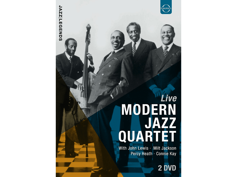 The Modern Jazz Quartet, John Lewis, Milt Jackson - LIVE [DVD]