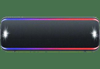 SONY Waterproof Draagbare Bluetooth speaker met LED Zwart