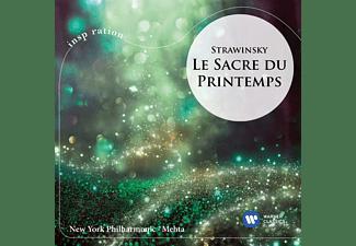 New York Philharmonia - Le Sacre du Preintemps  - (CD)