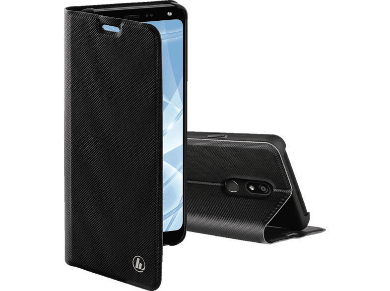 HAMA Slim Pro Bookcover LG K40 Polyurethan Schwarz