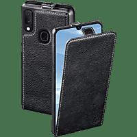 HAMA Smart Case , Flip Cover, Samsung, Galaxy A20e, Echtleder (Obermaterial), Schwarz