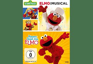 Sesamstrasse: Elmo - Das Musical & Riesenspaß mit Elmo DVD