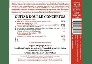 Diaz, Folgueira, Oliver Diaz, Oviedo Filarmonia, Trapaga Miguel - Guitar Double Concertos  - (CD)