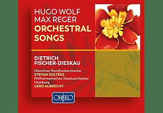 Dietrich Fischer-Dieskau, Münchner Rundfunkorchester, St. Michaelis-Chor Hamburg, Philharmonisches Staatsorchester Hamburg, Monteverdi Chor Hamburg - Orchestral Songs  - (CD)