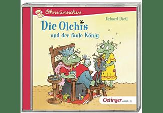 Erhard Dietl - Ohrwürmchen.Die Olchis und der faule König  - (CD)