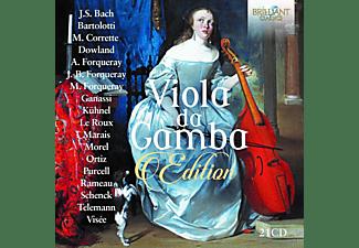 Rainer Zipperling, Pieter Jan Belder, Ghislaine Wauters, VARIOUS - Viola Da Gamba-Edition  - (CD)