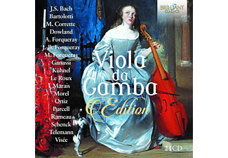 Rainer Zipperling & Pieter Jan Belder & Ghislaine Wauters - Viola Da Gamba Edition CD