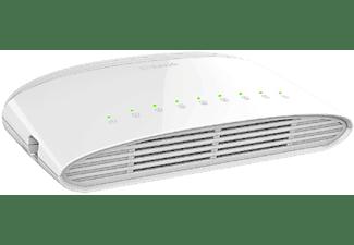 Switch - D-Link DGS 1008D, 8 puertos, 10/100/1000 Mbps no Gestionable, Blanco