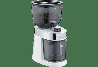 GRAEF CM 201 Kaffeemühle Weiß (130 Watt, Scheibenmahlwerk)