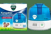 WICK WUL505 Cool Mist Luftbefeuchter Weiß/Blau (15 Watt, Raumgröße: 10 m²)