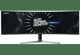 "Monitor - Samsung CRG9 C49RG90, Gaming, 49"", Curva, QLED, Negro"