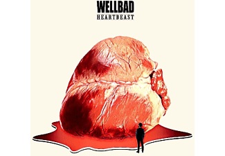 Wellbad - Heartbeast  - (CD)