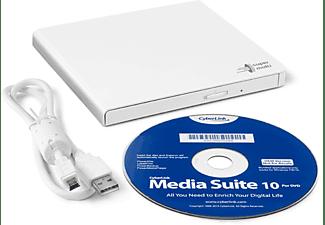 HITACHI-LG DVD Brenner GP57EW40, extern, weiß, USB 2.0 (GP57EW40.AHLE10B)
