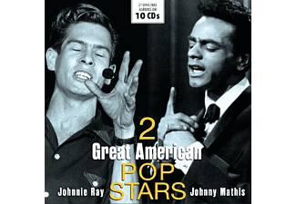 Ray & Mathis - 2 GREAT AMERICAN POP STARS  - (CD)