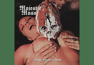 Majestic Mass - SAVAGE EMPIRE OF DEATH  - (CD)