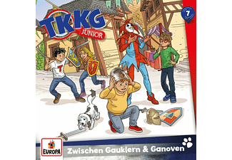 Tkkg Junior - 007/Zwischen Gauklern und Ganoven  - (CD)