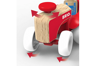 BRIO Traktor mit Pferde-Anhänger Spielset, Mehrfarbig