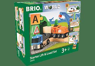 BRIO Puppen-Traget. rot m.P. Eisenbahn, Mehrfarbig