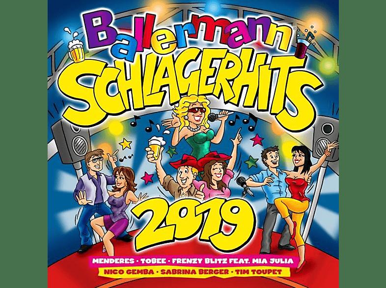 VARIOUS - Ballermann Schlager Hits 2019 [CD]