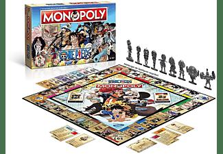 WINNING MOVES Monopoly - One Piece Gesellschaftsspiel Mehrfarbig