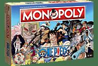 WINNING MOVES Monopoly - One Piece Gesellschaftsspiel, Mehrfarbig