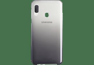 SAMSUNG EF-AA202, Backcover, Samsung, Galaxy A20, Schwarz