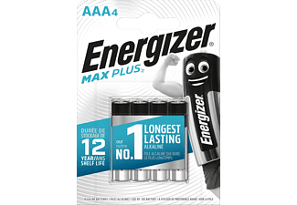 ENERGIZER Max Plus - Pile Micro (AAA) Alcaline Manganèse