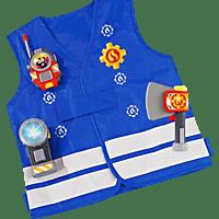 SIMBA TOYS Sam Feuerwehr Einsatzset Spielset, Blau