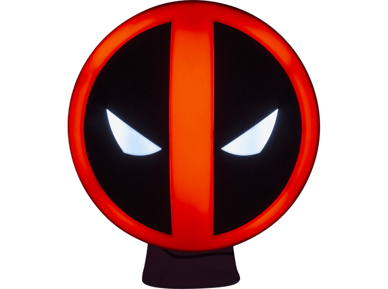 PALADONE PRODUCTS Deadpool Logo Leuchte Lampe, Rot