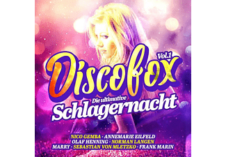 VARIOUS - Discofox Vol.1 Die Ultimative Schlagernacht  - (CD)