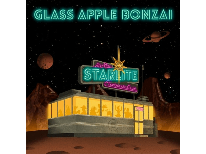 Glass Apple Bonzai - The All-Nite Starlite Electronic Cafe [CD]