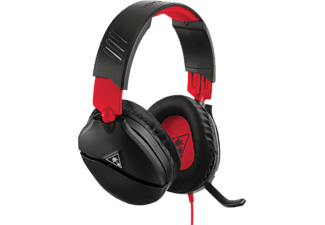 TURTLE BEACH Ear Force Recon 70N - Casque de jeu (Noir/Rouge)